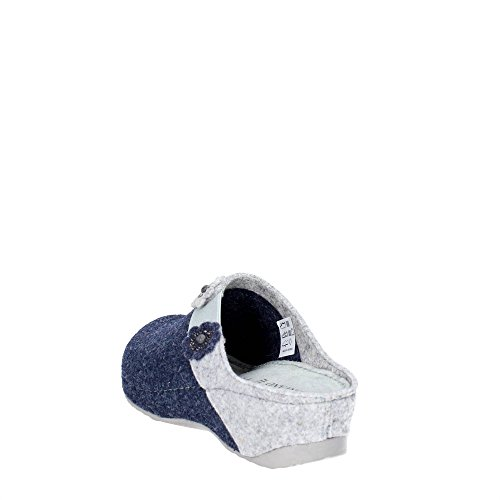 Pantofole Grunland Blu cenere Donna Ci1087 RBqRvwU