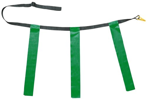 CHSTFFAGN - TRIPLE FLAG FOOTBALL SET GREEN - Belt Techno