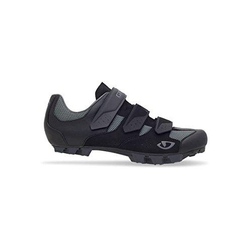 Giro Herraduro MTB Zapatos, Negro y Gris