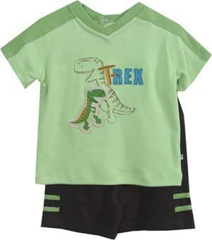 T Rex Infant Boys Short Set-2938j