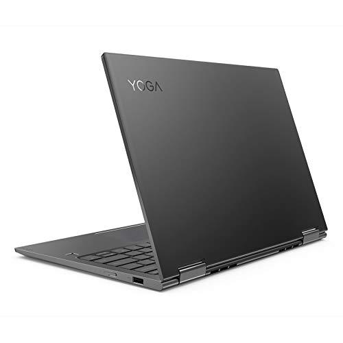 Lenovo YOGA 730-13IWL Convertibile, Display 13.3 FHD IPS Touch, Processore Intel Core I5-8265U, RAM 8 GB, Storage 256 GB SSD,Grafica Condivisa, Windows 10, Grigio, 81JR001BIX