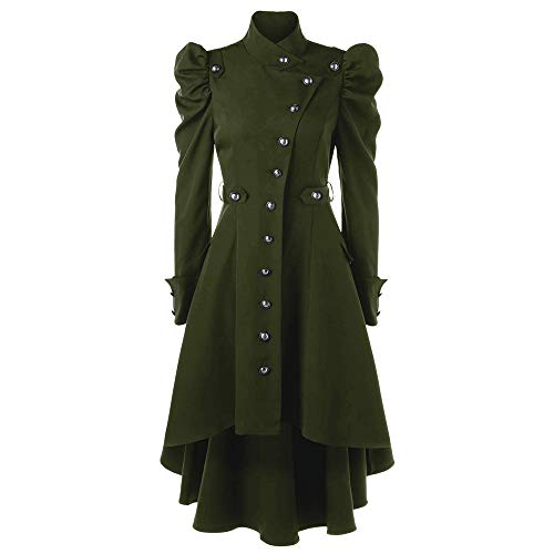 Beer Girl Bustier - Clearance Sale! Wintialy Womens Vintage Steampunk Long Coat Gothic Overcoat Ladies Retro Jacket