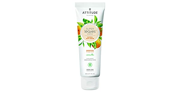 ATTITUDE Super Leaves Crema Corporal Energizante 240ml: Amazon.es ...