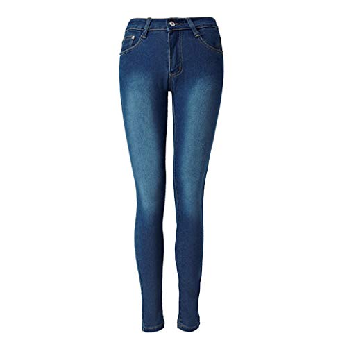 Vintage Versatile Washed Stretch Denim 32 High Rise Slim Boot Cut Jeans Elasticity Straight Barrel and Tight Legs Jean