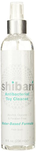 Shibari Antibacterial Toy Cleaner, 8oz Spray Bottle