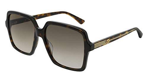 Sunglasses Gucci GG 0375 S- 002 HAVANA/BROWN