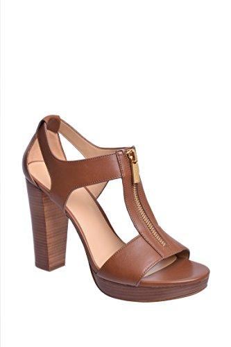(Michael Michael Kors Women's Berkley Sandal Luggage Vacheta Sandal 10 M)