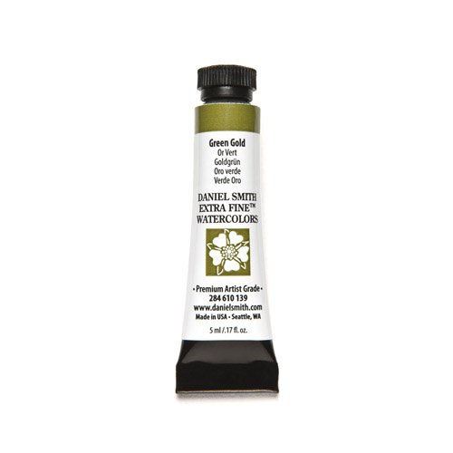 Daniel Smith 284610089 Extra Fine Watercolors Tube, 5ml, Quinacridone Gold