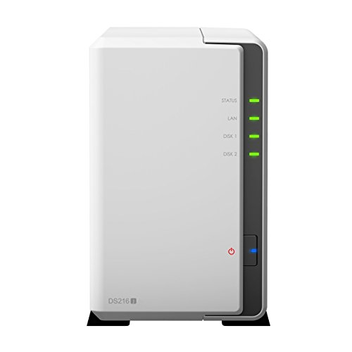 Synology DiskStation 2-bay 3.5-Inches NAS server 1.0GHz, 512MB RAM, 1xGigabit (DS216J ) by Synology (Image #3)