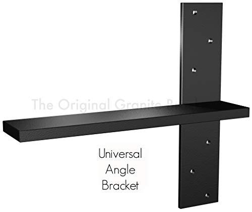 Wall Granite Bracket - Free Hanging Shelf Bracket (16 inch, Universal)