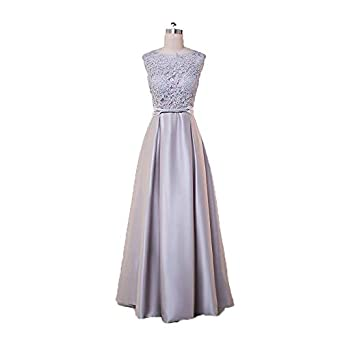 gyjdtcKr Women Elegant Gown Chiffon Sequins Long Party Evening Dresses