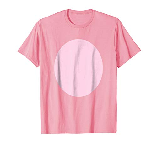 Pig Belly Pink Fur Barnyard Animal Halloween Costume Shirt -