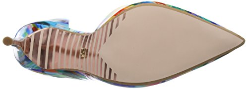 Duna Damen Brynn Pumps Multicolour (multi-patent_synthetic)