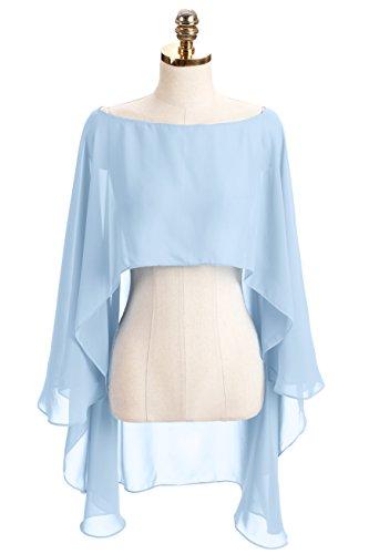 blue a line bridesmaid dresses - 3