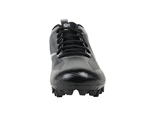 45670f31d474a Nike Men's Vapor Strike 5 TD Football Cleat Black/Metallic Silver Size 10 M  US