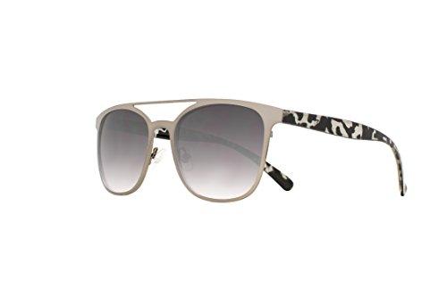 Joes Jeans Women's Jj 7029 Fashion Polarized Wayfarer Sunglasses, Satin Gunmetal, 148 - Joe's Sunglasses Jeans