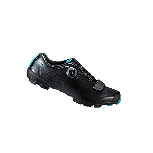 Shimano Shxc7le (ancho) Zapato Para Hombre Bicicleta De Montaña Negro