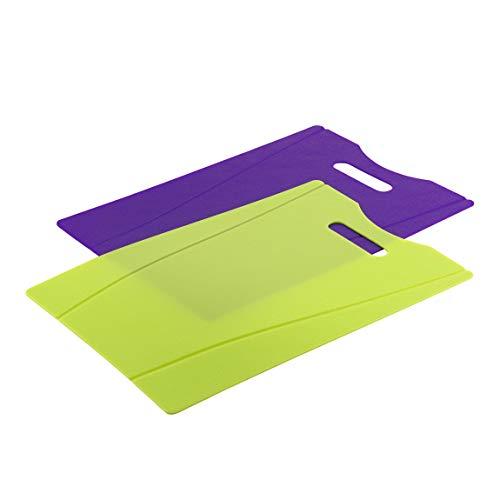 Kuhn Rikon Kitchen Utensil Chopping Board Violett/Grün (Violett Grün)