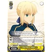 Weiss Schwarz - Past Hero, Saber - FS/S34-E012 - U (FS/S34-E012) - Fate/stay night [Unlimited Blade Works] Booster