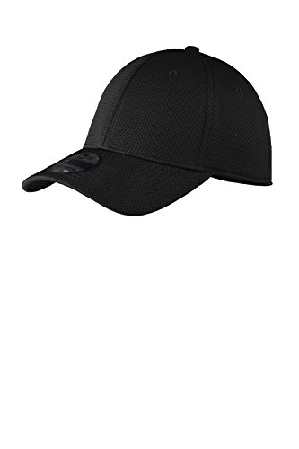 New Era Tech Mesh Cap, Black, Medium/Large ()