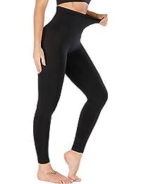 5 inches High Waist Yoga Leggings, Compression Workout Leggings for Women Shapewear Yoga Pants Tummy Control