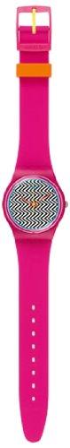 Swatch Pink Fuzz Ladies Watch