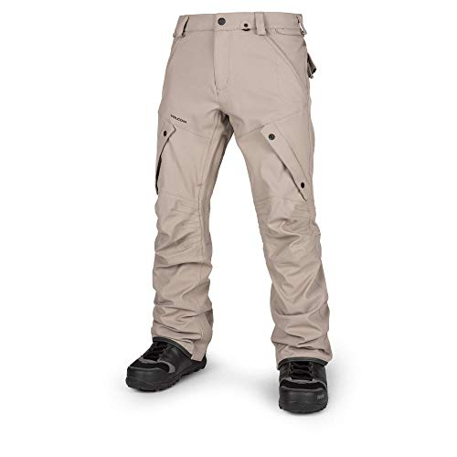 Volcom Men's Articulated Modern Fit Snow Pants, Shepherd, Large