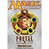 Magic the Gathering Portal Second Age Martial Law Deck
