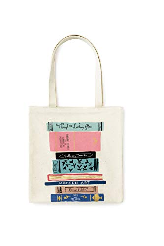 Kate Spade New York Canvas Book Tote (Stack of Classics)