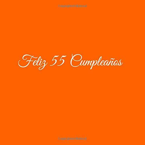 Feliz 55 cumpleaños: Libro De Visitas 55 Años Feliz ...