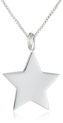 Sterling silver star pendant necklace 18 18 sterling silver star pendant necklace 18 aloadofball Image collections