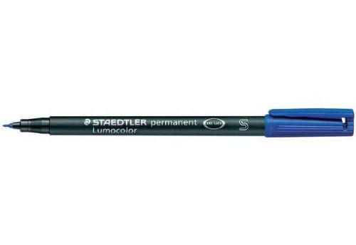 bleu Trac/é 1mm STAEDTLER Lot de 6 Lumocolors marqueur permanent 317M