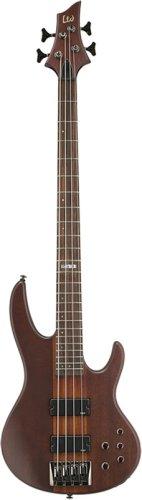 ESP LTD D Series D-4 Electric Bass Guitar - Natural Satin ()