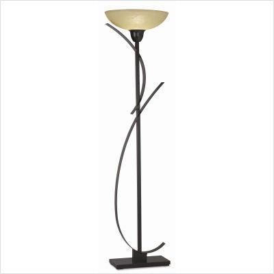 Kathy Ireland Bronze Orbit And Glass Torchiere Floor Lamp (Floor Ireland Glass Kathy Lamp)