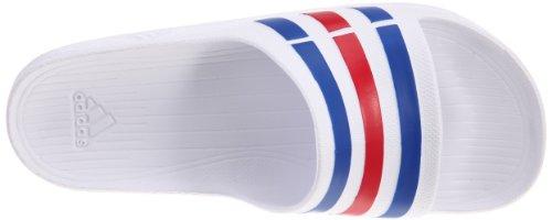 Adidas Män Simma Duramo Glider Unisex Vita Sandaler U43664