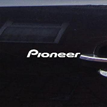 Pioneer Vinyl Decal Decal for laptop windows wall car boat