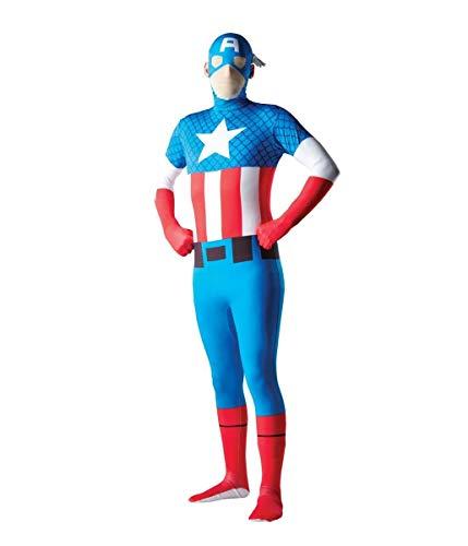 Rubie's Men's Marvel 2nd Skin  LargeCaptain -