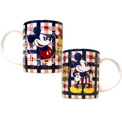 American Mickey Mouse Plaid Disney 11 Oz