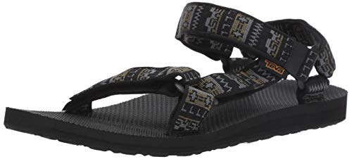 Teva Men's M Original Universal Sandal, Pottery Black/Multi, 12 Medium US