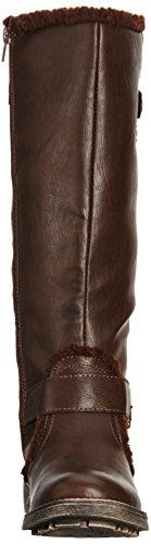 Brown Dark Womens Dog Rocket Teyla Slouch Boots AWpSnzS