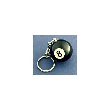 Amazon.com: joissu 8 Ball Llavero: Office Products