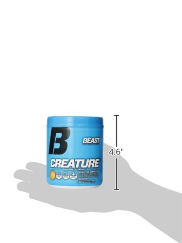 Beast Sports Nutrition – Creature Creatine Complex – Fuel Muscle Growth – Optimize Muscle Strength – Enhance Endurance – Increase Recovery Time – Five Forms of Creatine – Citrus 60 Servings by Beast Sports Nutrition (Image #3)