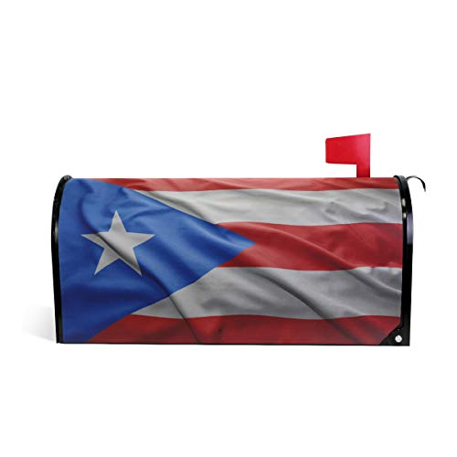 Multi Embroidered Jacket (Printedin3D Puerto Rico Flag Magnetic Mailbox Cover for US Standard Size)