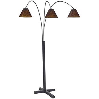 Nova Lighting 4212bz Mica 3 Light Arc Floor Lamps