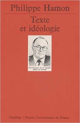 Téléchargement Texte et idéologie epub, pdf