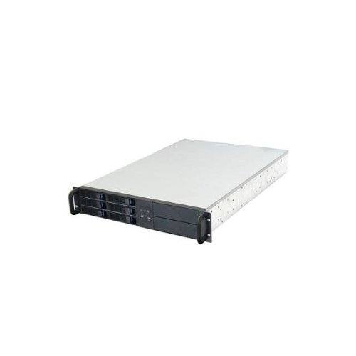 NORCO 2U Rack Mount Six Hot-Swappable SATA II, III/SAS 6G Drive Bays Server Chassis RPC-2106