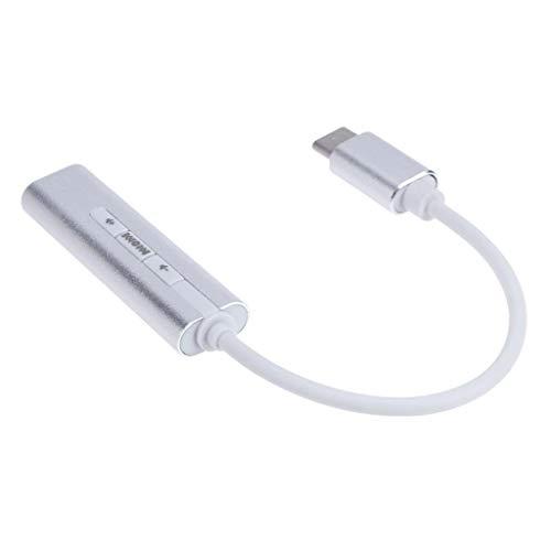 Almencla Tarjeta De Sonido USB Convertidor Externo Adaptador De ...