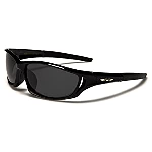 Polarized X-Loop Sport Fishing Golf Driving Outdoor Sports Sunglasses - Black