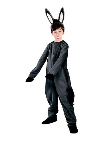 Donkey Donkey And Teeth Costumes Shrek Ears (Kids Shrek Donkey Costume - Child)