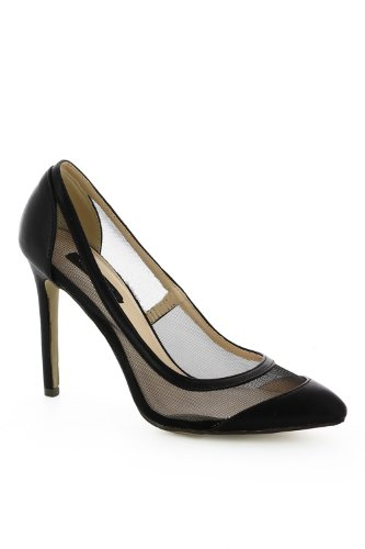 Tendance negro de para vestir negro mujer Go Zapatos ZORdqZ